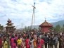 Bringing in the New Year in Bhaktapur