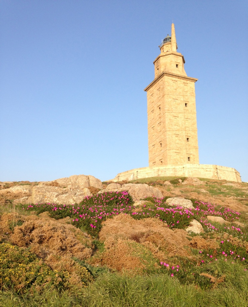 The Torre de Hércules is the oldest Roman lighthouse in use in the world today.