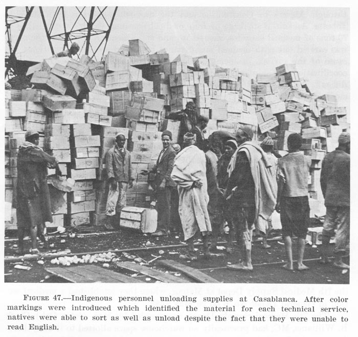 Who might have created a logistics solution as simple and as perfect? Who might have spent long hours putting on colored stickers? History is silent about many people.