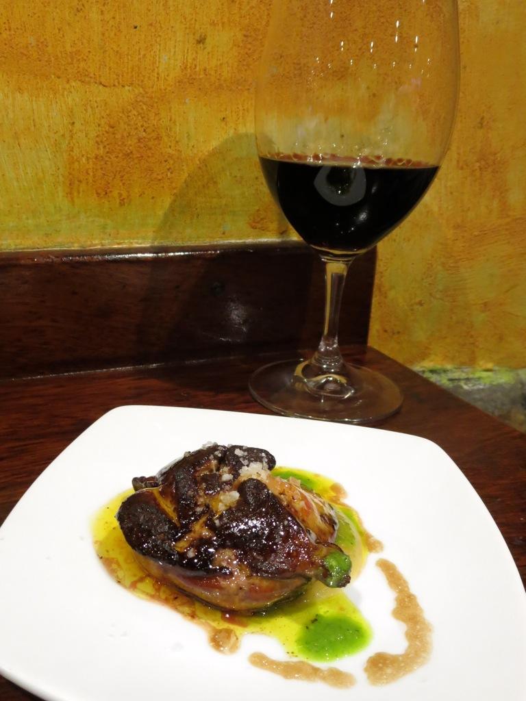 Going to hell for eating the heavenly Foie gras at La Cuchara de San Telmo, San Sebastian