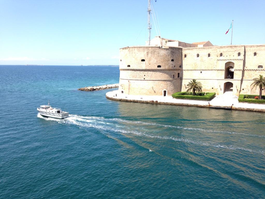 Aragon Castle, Taranto, Italy