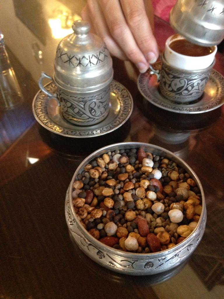 Turkish Coffee at Tahmis Kahvesi, Gaziantep, Turkey