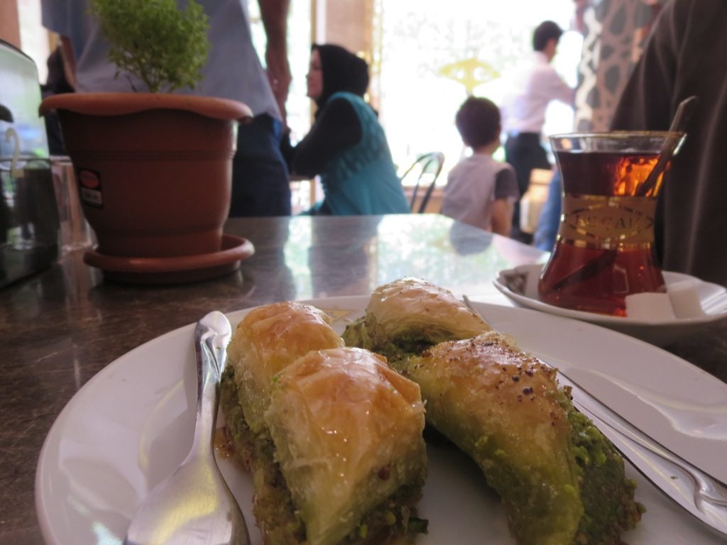 The best baklava we tasted, Koçak, Gaziantep, Turkey