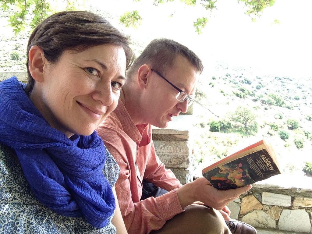 A reading of R. A. Lafferty's The Devil is Dead at a picnic while astride Mt. Zeus on Naxos, Greece.