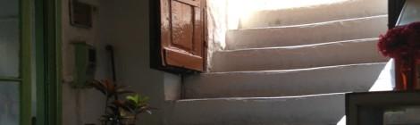 The entry at Diporto Agoras.