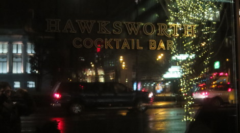 Hawksworth Cocktail Bar, Vancouver, BC