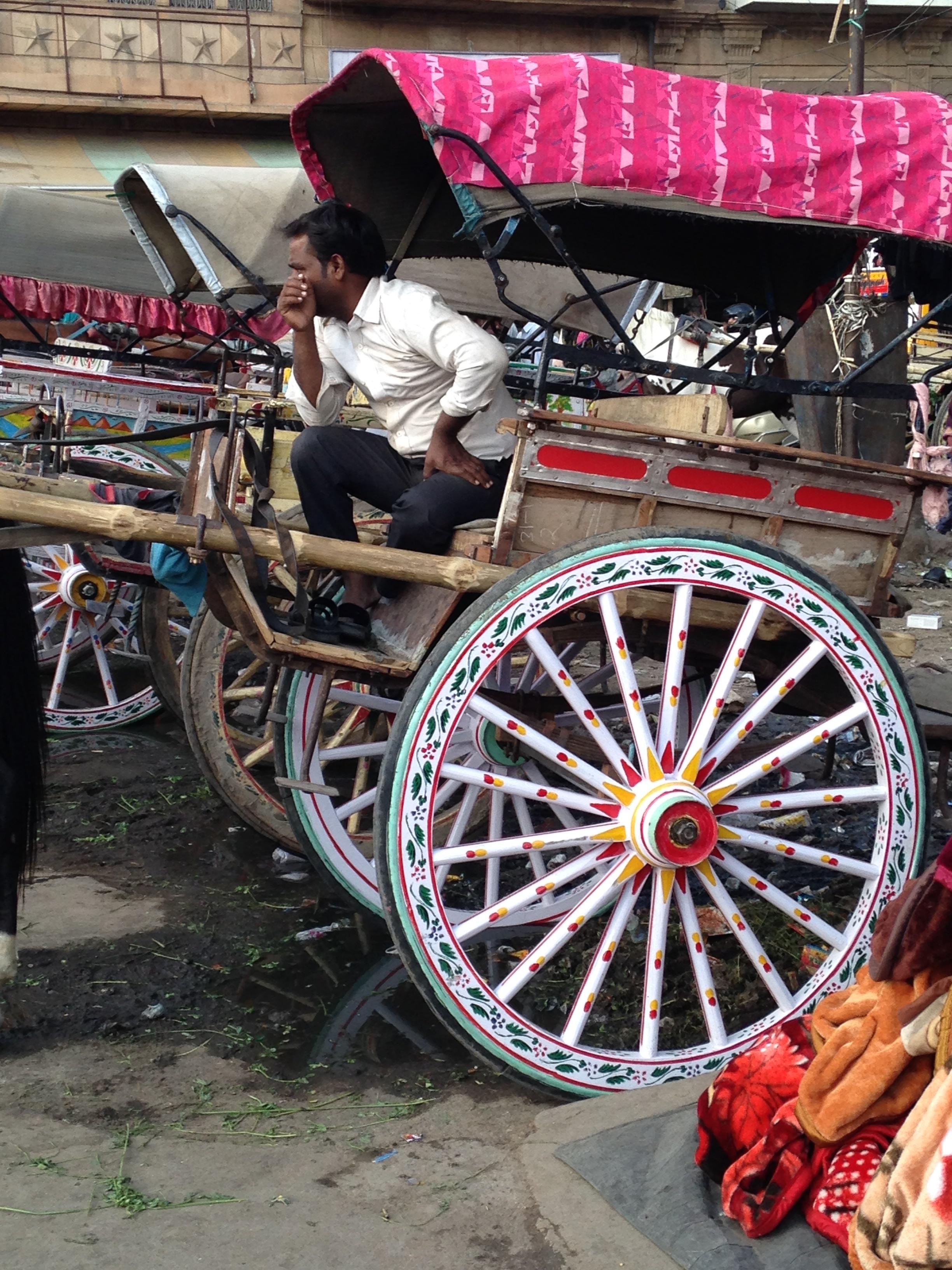 Two Wheel Horse Cart of Jodhpur