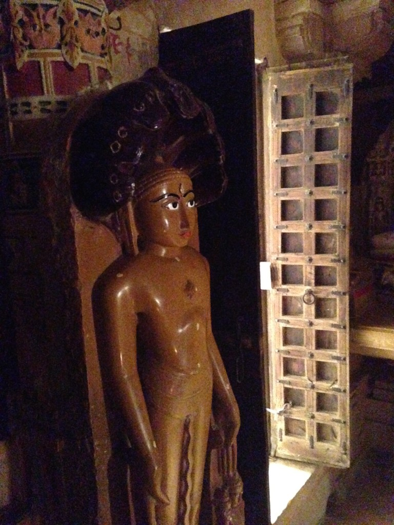 Standing Jain Figure in Jaisalmer Fort.