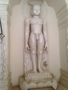 A Standing Jain Ascetic