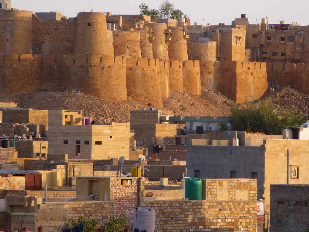 The Golden City fort, Jaisalmer, India.