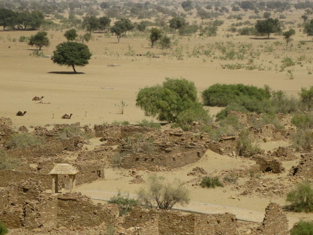 Brahman ghost town, Jaisalmer, India.