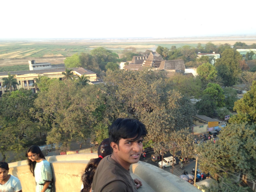 The View from Atop Golghar