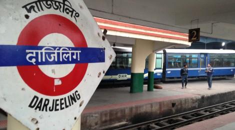 Darjeeling's Main Station