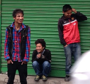 Three of Darjeeling's Youth