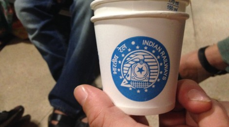 A Disposable India Rail Teacup