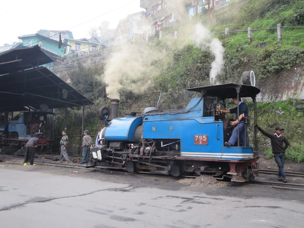 Darjeeling Himalayan Express steam engines still ride the rails.