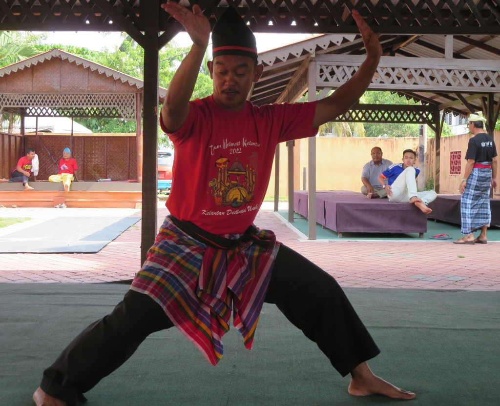 The Beginning of a Silat Maleyu Performance