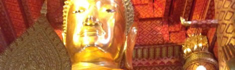 The Giant Buddha at Wat Phanan Choeng