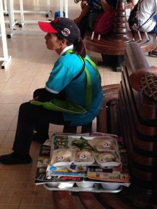 Food Vendor In Hua Hin Station with Halal Treats