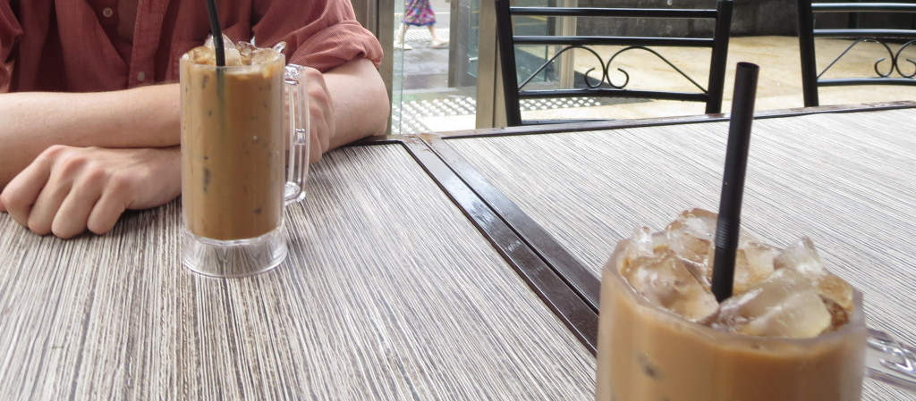 Two Typical Malaysian Ice Coffees