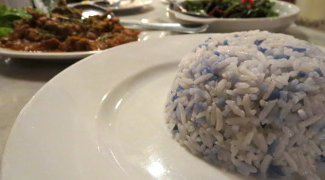 Blue Rice, Nasi Kerabu