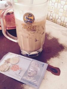 Ipoh White Coffee in a Beer Mug, George Town, Malaysia