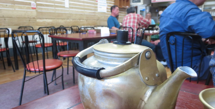A Kettle of Makgeoli