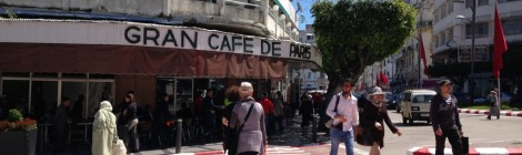 Intrigue in Broad Daylight at the Café de Paris, Tangier, Morocco