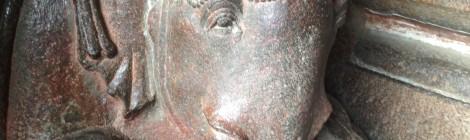 Elephant Sculpture at Ellora Caves