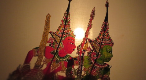 Heroes of the Ramayana Shadow Puppets in Kota Bharu
